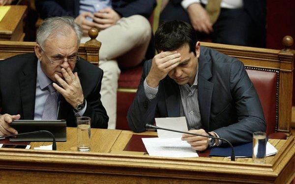 Yunanistan 2060'a kadar IMF ve AB'ye geri ödeme yapacak