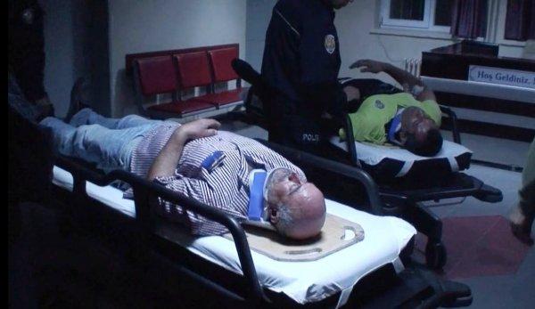 Aksaray'daki trafik kazasında 4 polis yaralandı