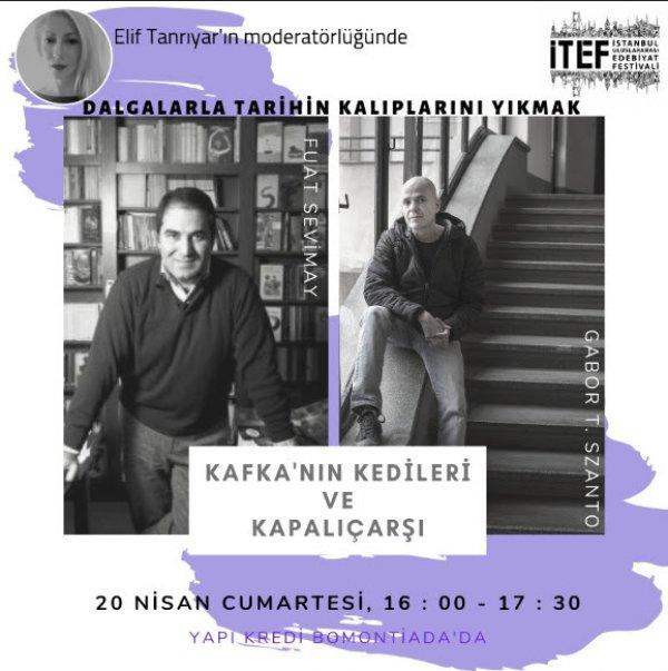 Ünlü Macar Yazar Gábor T. Szánto, İTEF için Türkiye'de