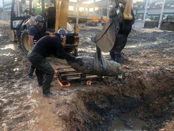 Bosna Hersek'te 500 kiloluk uçak bombası bulundu